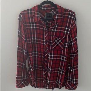Rails red plaid shirt